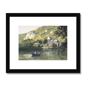 Crossing The River Framed & Mounted Print