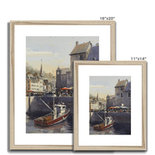 La Lieutenance In Honfleur Framed & Mounted Print