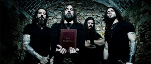"Rotting Christ Premiere New Official Music Videos For ""In The Name Of God"" & ""Hallowed Be Thy Name"""