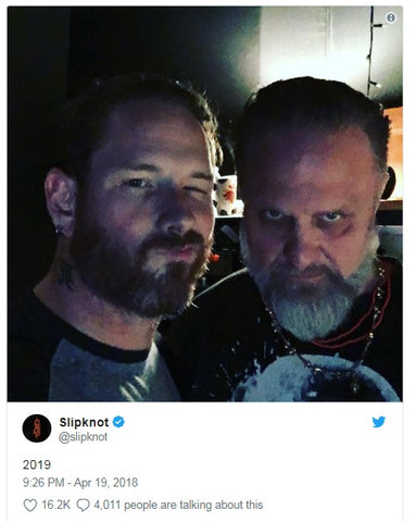 It looks like a new Slipknot album is coming next year – Metal Gods