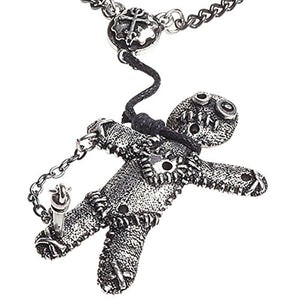 Voodoo Doll Pendant Necklace
