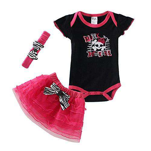 896525d00544c ... Cute Baby Girl Outfits with Headbands - Metal Gods ...