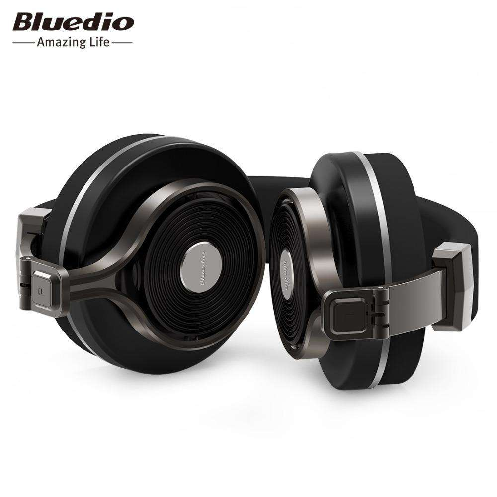 605a042c17a ... Bluedio T3 Plus Wireless Bluetooth Headphones/headset with Microphone/Micro  SD Card Slot ...