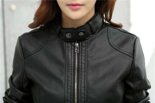 Motorcycle Faux Leather Jacket - Jacket - Metal Gods