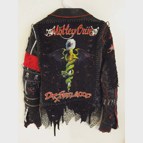 Motley Crue Dr. Feelgood Handmade Jacket