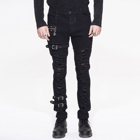 Mens Alternative Black Pants