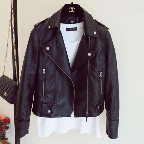 Faux Leather Jacket - Jacket - Metal Gods