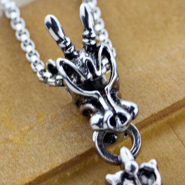 Baphomet Head Necklace - Necklace - Metal Gods