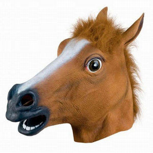 Halloween Horse Head - Funky Latex Mask - Mask - Metal Gods