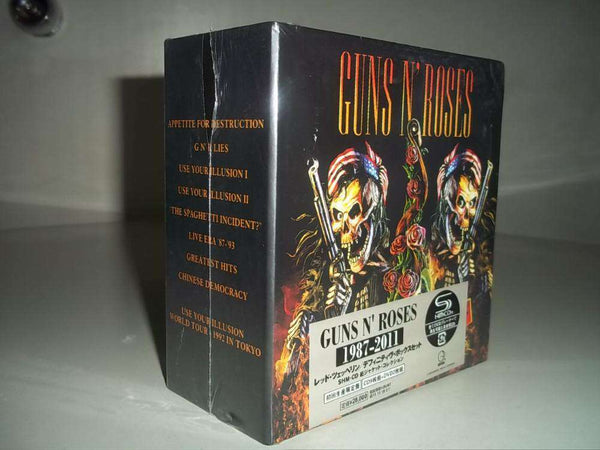 1987-2011 Guns and Roses Complete Collection 9 CDs + 2 DVDs - CD - Metal Gods