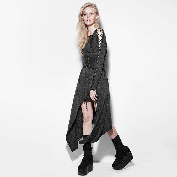 Asymmetrical Ankle Lenght Dress