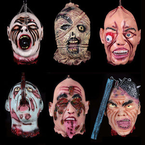 Scary Latex Masks - Mask - Metal Gods