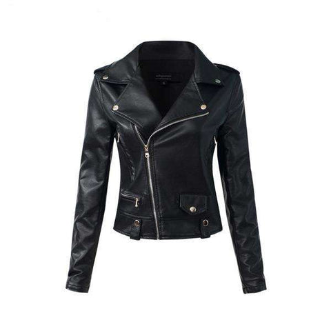 Casual PU Leather Jacket - Metal Gods