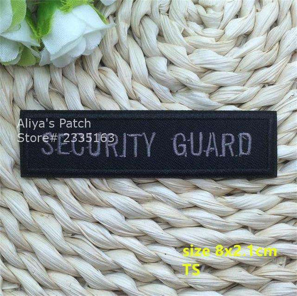 1 pcs words embroidered iron on patches