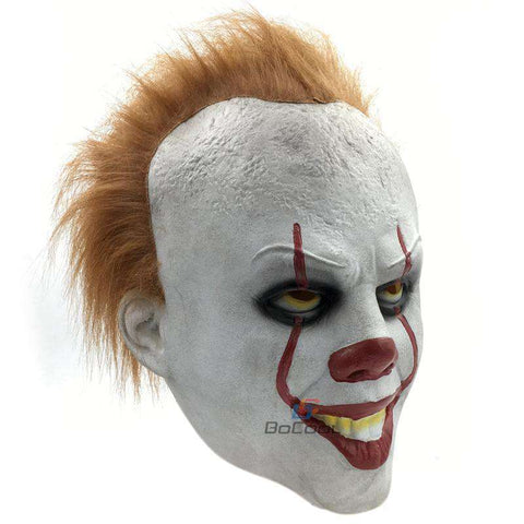 Stephen King's It Pennywise Latex Mask - Mask - Metal Gods