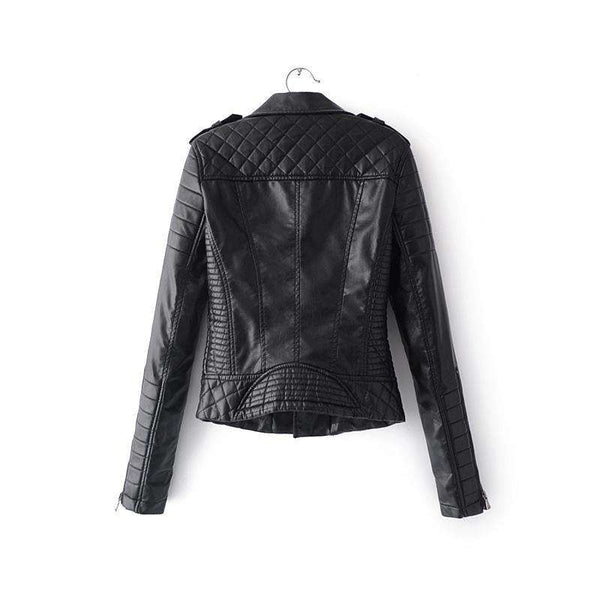 2018 Soft Faux Leather Motorcycle Jackets - Jacket - Metal Gods