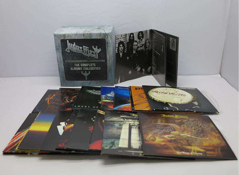 Judas Priest CD box -The Complete Albums Booklets Full Box Set 19 CDs - CD - Metal Gods