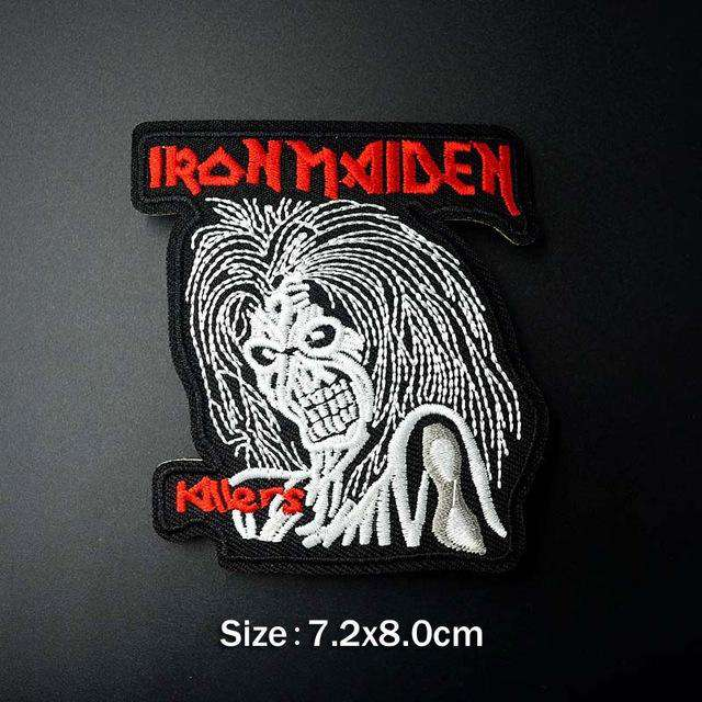 Bands Embroidered Patches - Patches - Metal Gods