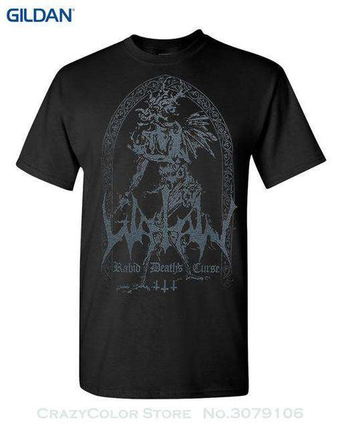 Authentic Watain Rabid Death's Curse T Shirt - Shirt - Metal Gods