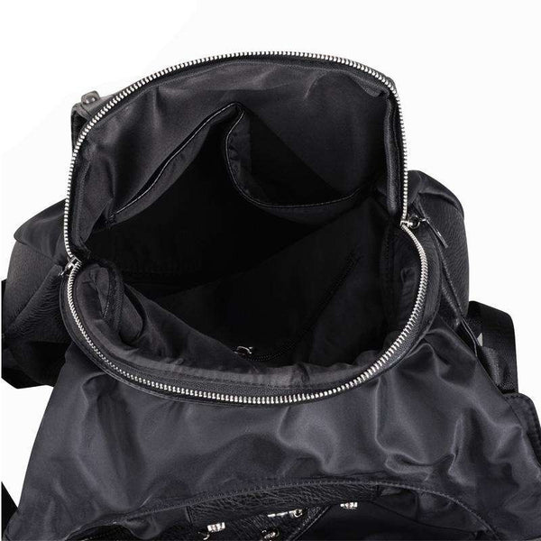 3D Skull PU Leather Backpack with Hood - Backpack - Metal Gods