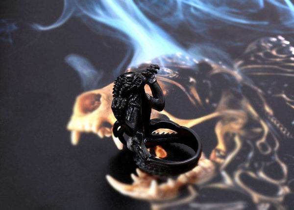 Alien Stainless Steel Rings - Ring - Metal Gods