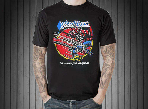 Judas Priest Screaming for Vengeance T Shirt - Shirt - Metal Gods
