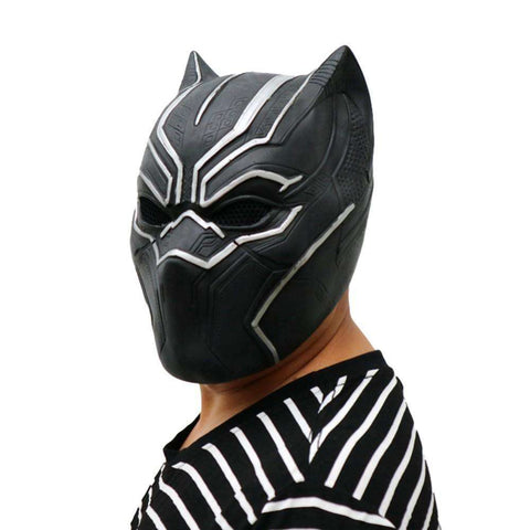 3D Black Panther Mask - Metal Gods