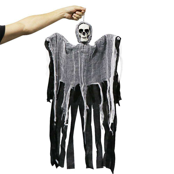 100 cm Halloween Hanging Ghost - Decor - Metal Gods