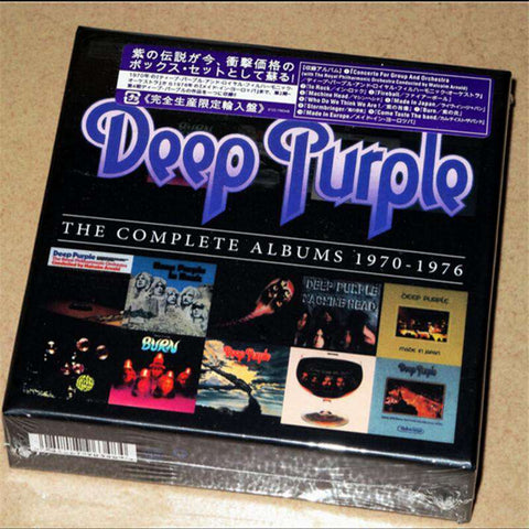 Deep Purple Complete Albums 1970-1976 10 CDs - CD - Metal Gods