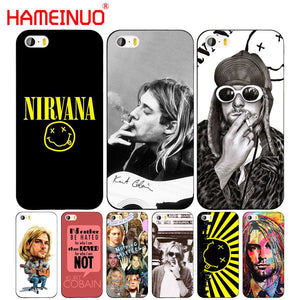 Nirvana Kurt Cobain Cell Phone Cover Case for Iphone - Phone Case - Metal Gods