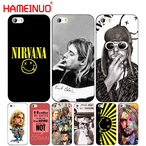 Nirvana Kurt Cobain Cell Phone Cover Case for Iphone