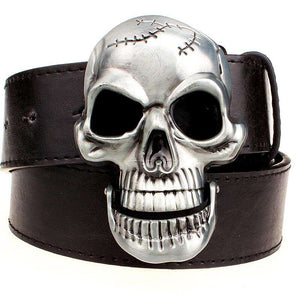 Big Skull Metal Buckle Belt