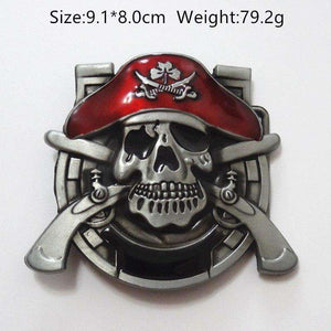 Cross Pirates Series Metal Belt Buckles - Metal Gods