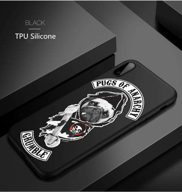 Sons of Anarchy Phone Case Cover for Samsung Galaxy and iPhone - Phone Case - Metal Gods
