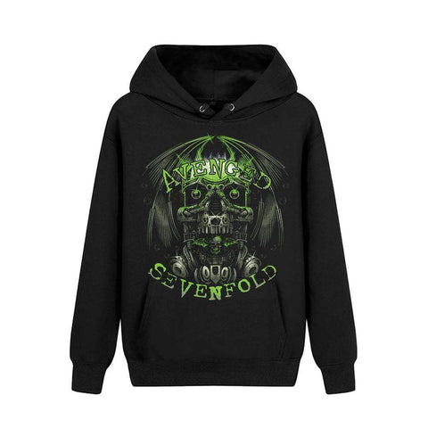Avenged Sevenfold Black Pullover Hoodies - Metal Gods