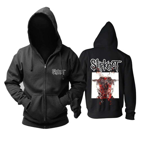 Slipknot | All Out Life zipper Hoodie - Hoodie - Metal Gods
