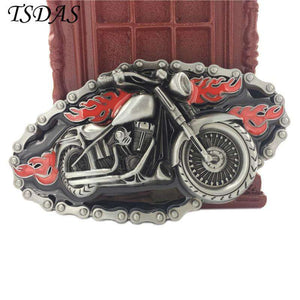 Motorcycle Belt Buckle - Buckle - Metal Gods