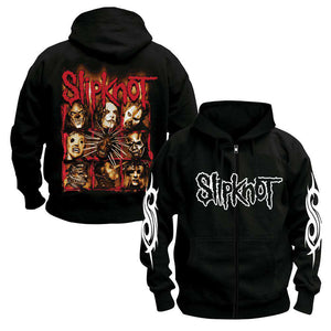 SLIPKNOT zipper Hoodies