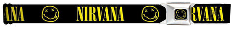 "Nirvana Smile Seatbelt Belt (24-38"")"