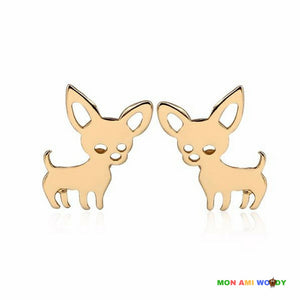 Boucles d'oreilles - Chihuahua - Mon ami woody