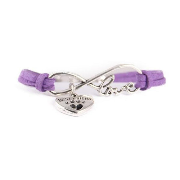 Bracelet - Best friend violet