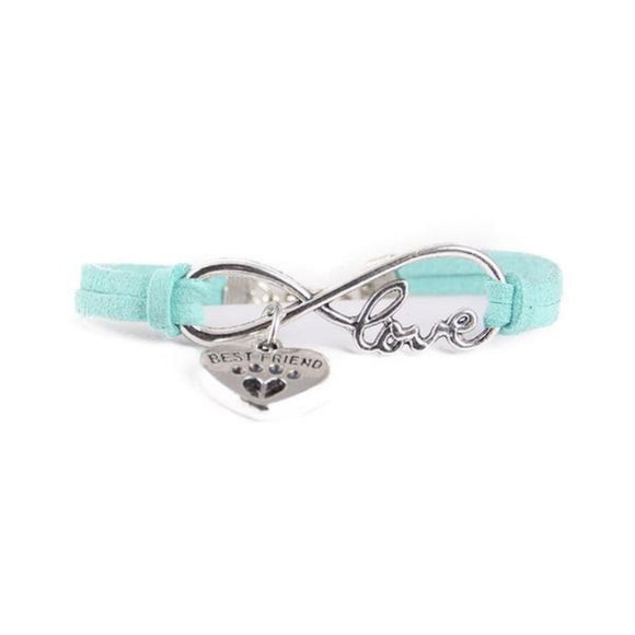 Bracelet - Best friend bleu ciel