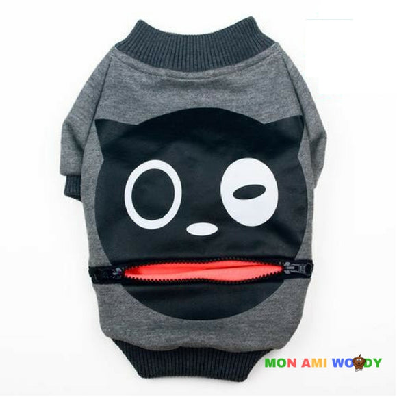 Pull smiley fashion pour chien - Mon ami woody