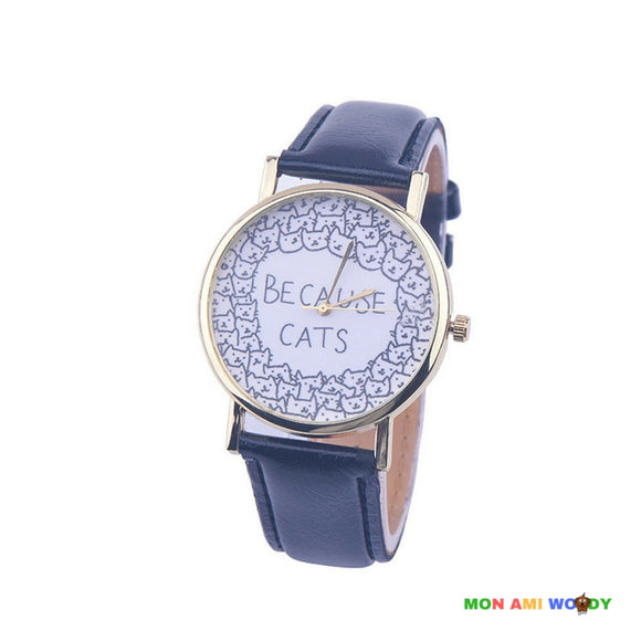 Montre - Because cats - Mon ami woody