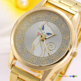 Montre - Chat strass - Mon ami woody
