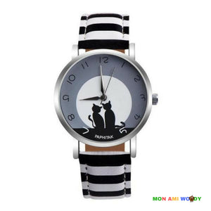 Montre - Chats amoureux - Mon ami woody