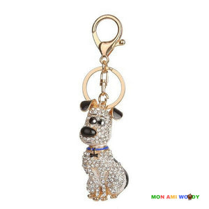 Porte clef - Fox terrier