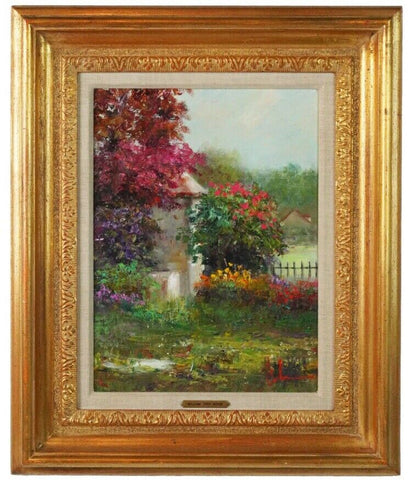 Wally Findlay Gallery LISTED Fine Art William Troy Acker Original Oil Painting