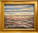 KADLIC Abstract Landscape Expressionist Impasto Original Oil Painting 24x20