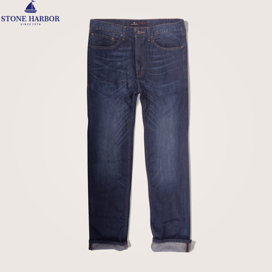 Knigter Super stretch Straight Fit Denim - Klashcollection.com